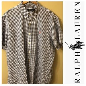 Ralph Lauren Button Down Short Sleeve